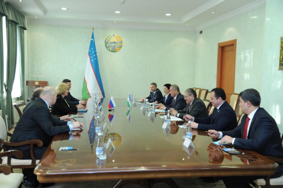 Tatiana Moskalkova held several meetings with colleagues in Uzbekistan