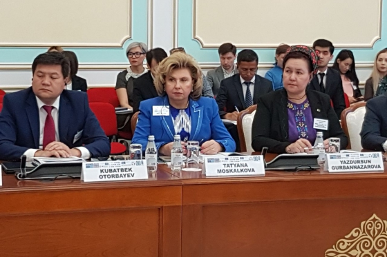 High Commissioner spoke at the Second Forum of the National Preventive Mechanism in Astana