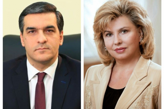 Telephone conversation of High Commissioner with Human Rights Defender of Armenia