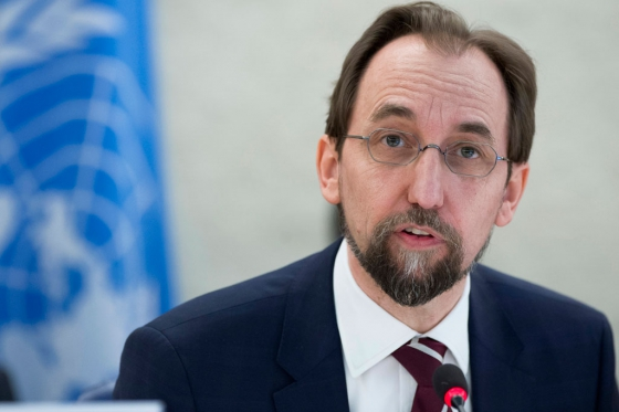 UN rights chief urges US to consider robust gun control