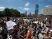 Thousands of demonstrators protest against racism in Boston