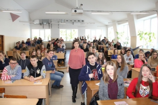 Chelyabinsk Commissioner met with students