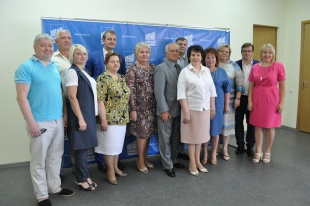 Round table held in Kursk region on observance monitoring of electoral rights