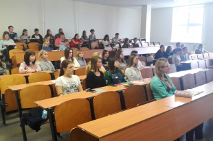 Kursk Commissioner met with students