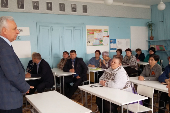 Altai Commissioner inspected conditions in a school