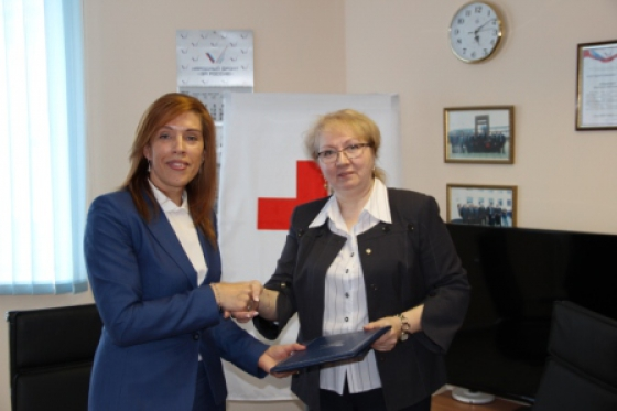 Agreement with Red Cross Organization signed in Nenets Autonomous District