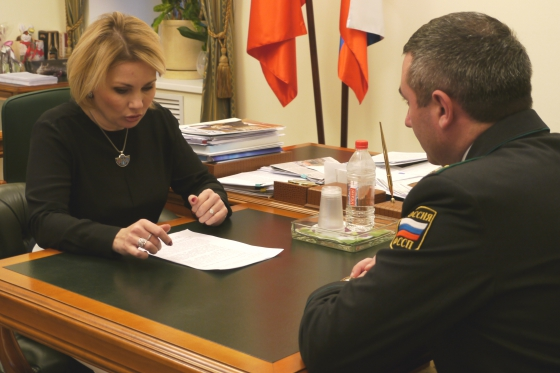 Moscow Region Commissioner held meeting with Chief Bailiff of region