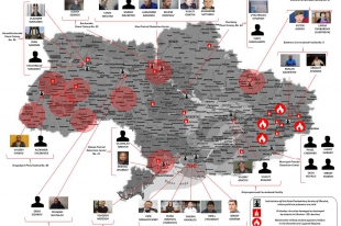 Monitoring of human rights violations on the territory of Ukraine