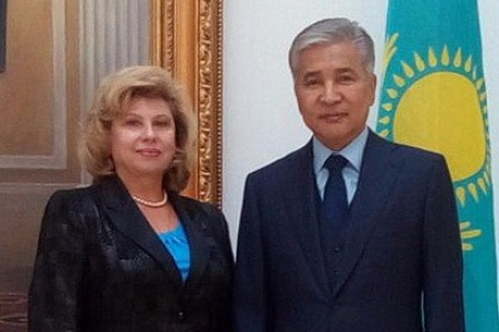 Meeting with Ambassador Extraordinary and Plenipotentiary of Kazakhstan