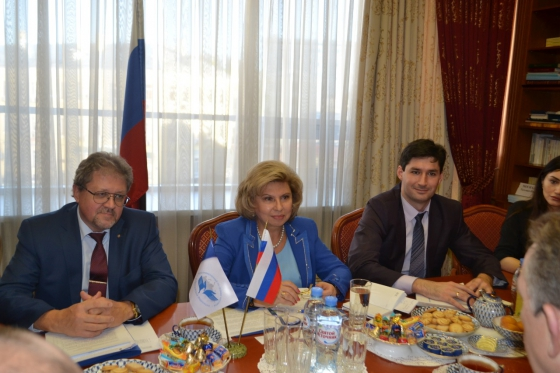 High Commissioner met with Ambassador of Australia to Russia