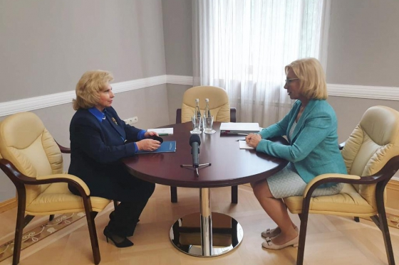 Meeting of Russian and Ukraine Ombudswomen