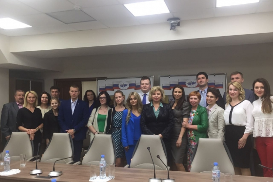 High Commissioner met with young lawyers in Moscow