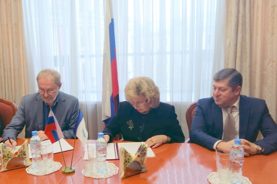 "Tatiana Moskalkova signed an agreement on cooperation with the Foundation ""Public Opinion"""