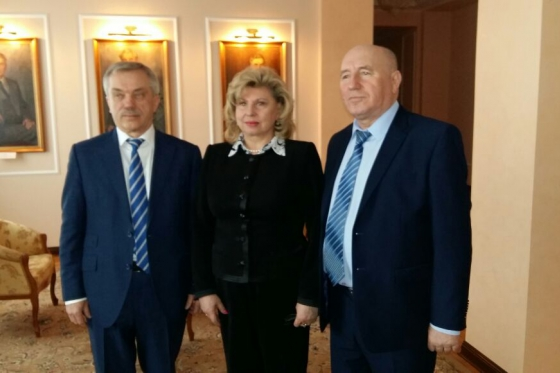 High Commissioner held working meeting with Governor of Belgorod Region