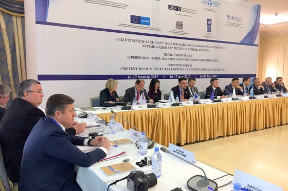 Representative of High Commissioner spoke at Forum in Astana
