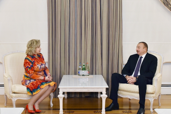 High Commissioner met with President of Republic of Azerbaijan