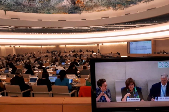 High Commissioner representative addressed the 39th Session of the UN Human Rights Council