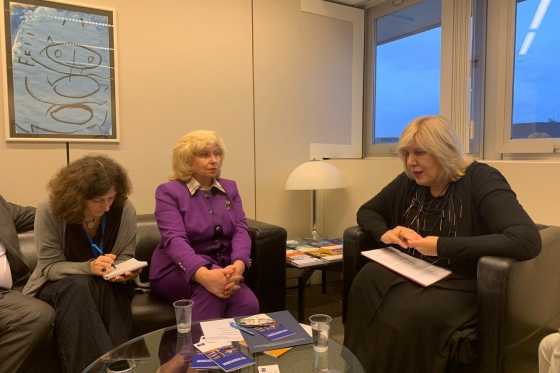 Tatiana Moskalkova met with CoE Commissioner for Human Rights Dunja Mijatović