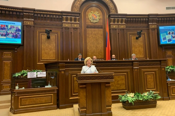High Commissioner spoke at the international conference in Yerevan