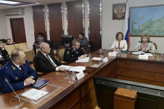 High Commissioner met with leadership of law enforcement and judicial authorities of Nenets Autonomous District