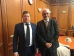 High Commissioner's Office and the Council of Europe discussed joint projects