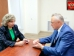 High Commissioner for Human Rights in Russia Tatiana Moskalkova held working meeting with Commissioner in Oryol Region Alexander Labeykin